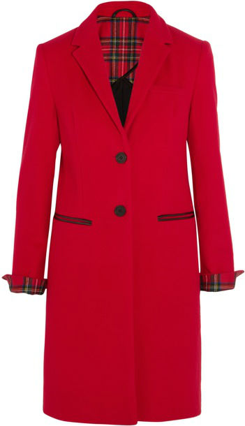 387143_Karl Lagerfeld - Mudhoney cotton-felt coat