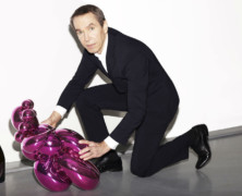 Jeff Koons goes Champagne